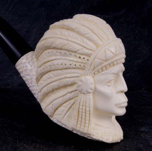 Fajka ALTINAY Meerschaum Indian Turkey Pianka Morska Sepiolit