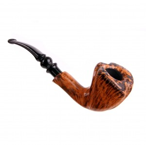 Fajka Freehand by Erik Nording Light Brown Grain 3 Briar
