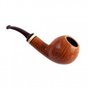 SAURO Straight Grain Freehand Pipe Briar Italy